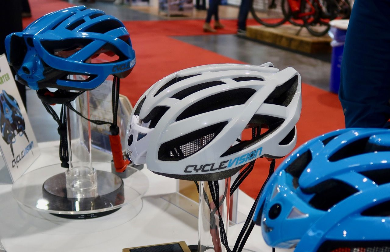 Cyclevision Bike Helmet Has Built In Cameras Front And Rear Bike