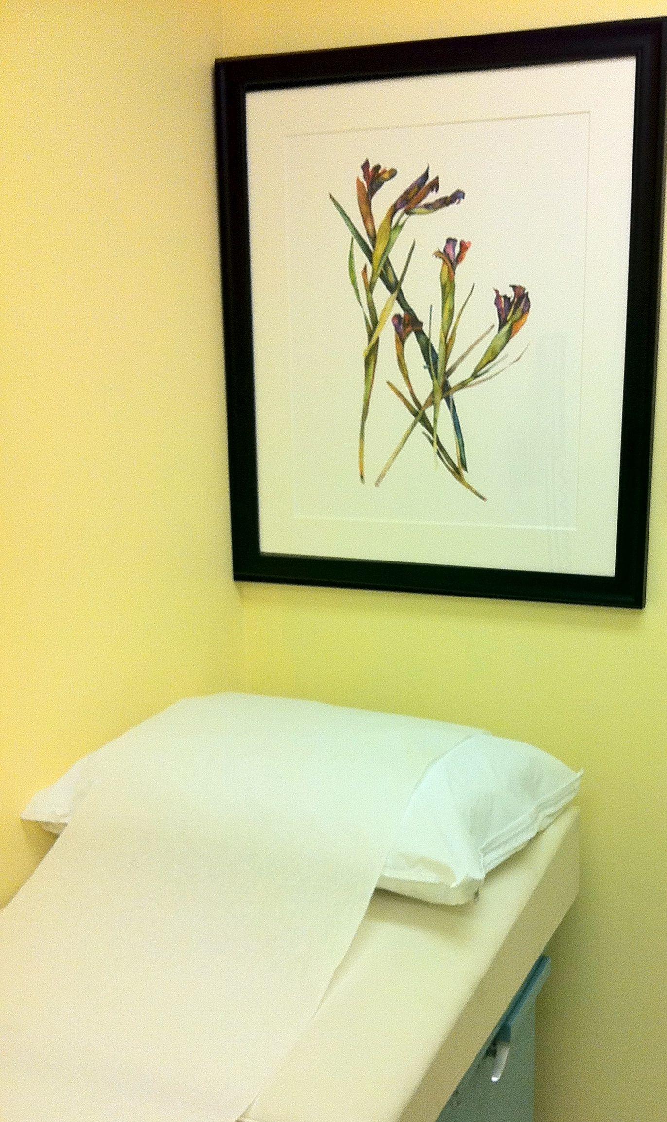 Chemotherapy Room Design: Bontical By Nancy Ballard In The Delores Room, Jennifer