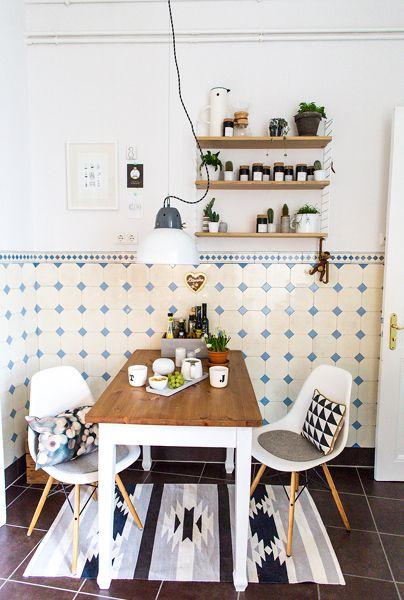 Küchenstyling In Schwarz Und Weiß Tönen Wohnung