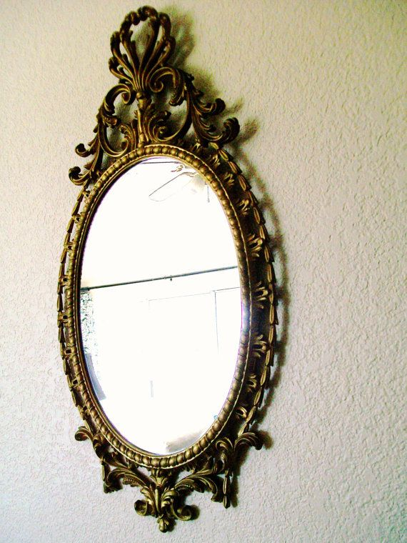 Vintage Wall MirrorRaRe Baroque Ornate