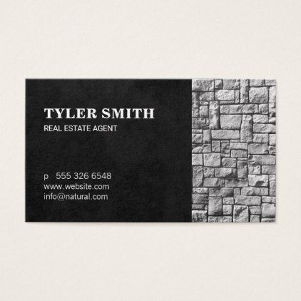 Real Estate Aagent Business Card - business template gifts unique