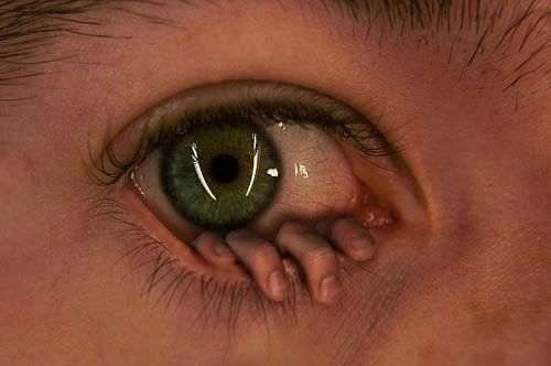 Image result for fingers coming out of eye