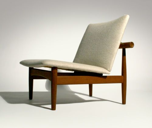 vintage 50 s danish modern finn juhl japan teak lounge chair ebay