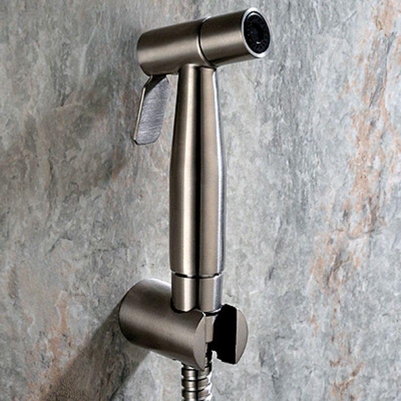 Toilet Handheld Toilet Sprayer 304 Stainless Steel Brushed Bidet Shattaf Kit