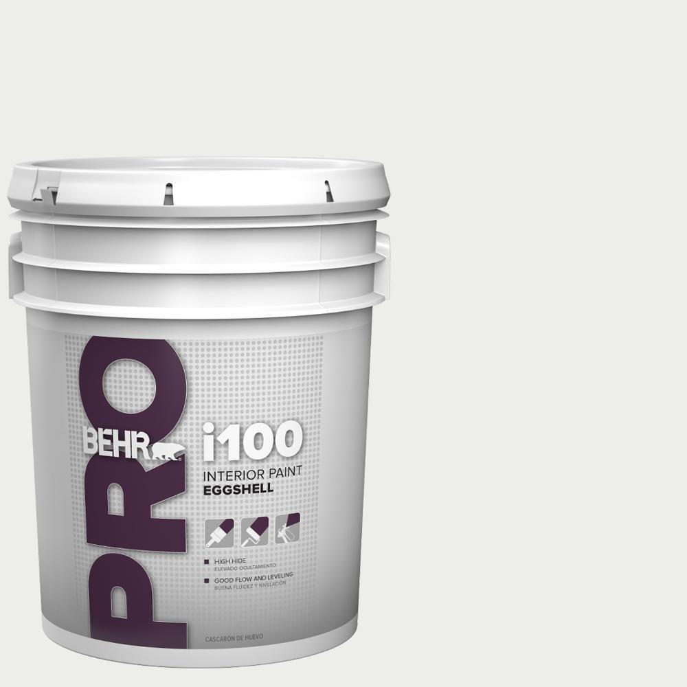 Behr pro 5 gal i100 tonedbase eggshell interior paint