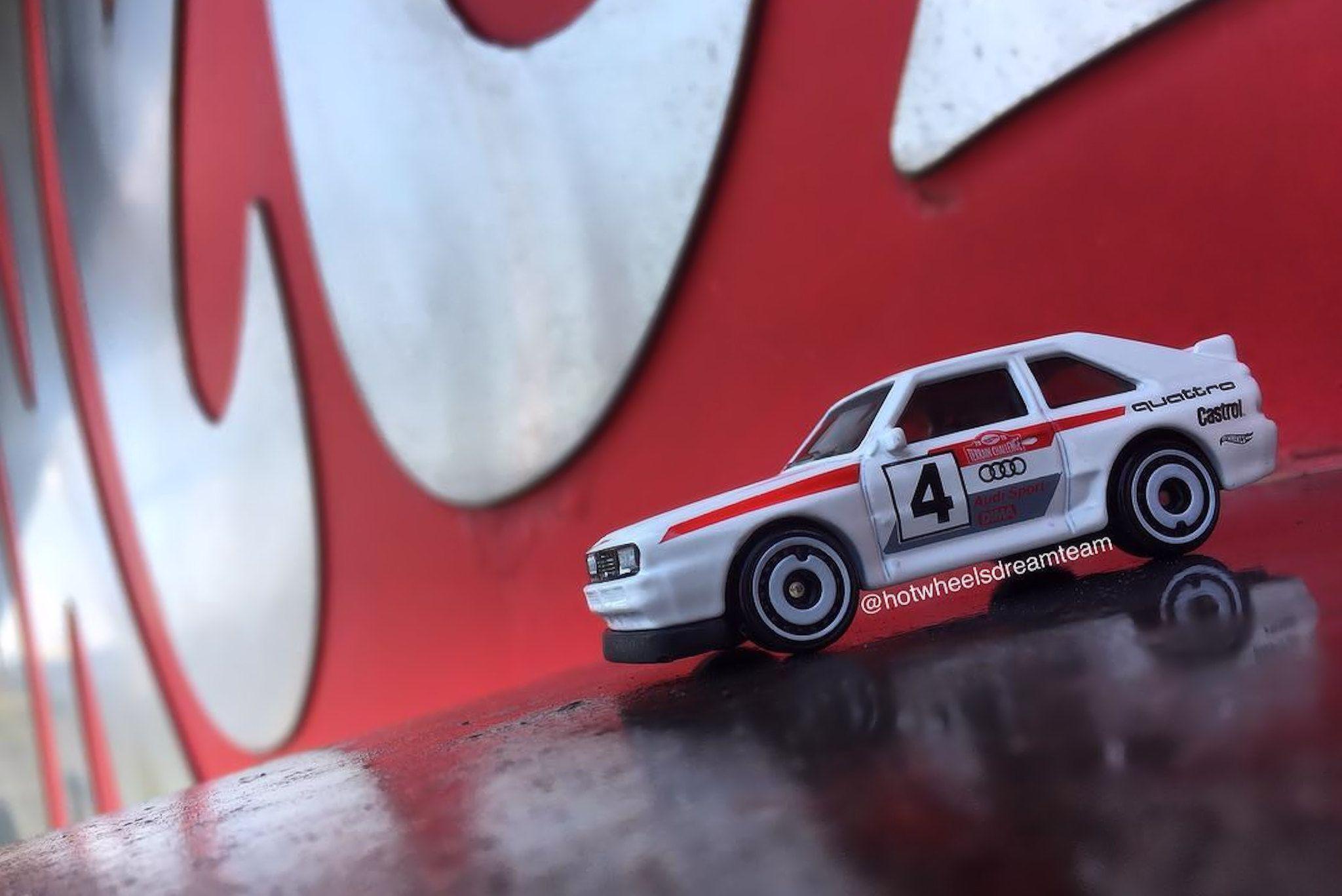 Hot Wheels Plus d'images pour l'Audi Sport Quattro de 84