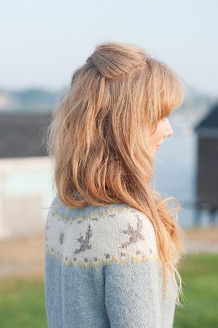 Birdie Fair Isle Cardigan pattern by Hannah Fettig | Fair isles ...