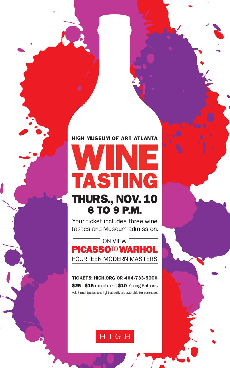 Cool E Mail Poster From The High Wine Tasting Invitations Wine Poster Wine Tasting