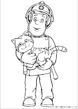 Fireman Sam Colouring Pages Fireman Sam Fireman Sam Birthday