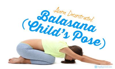 how to practice child's pose for beginners  basic yoga