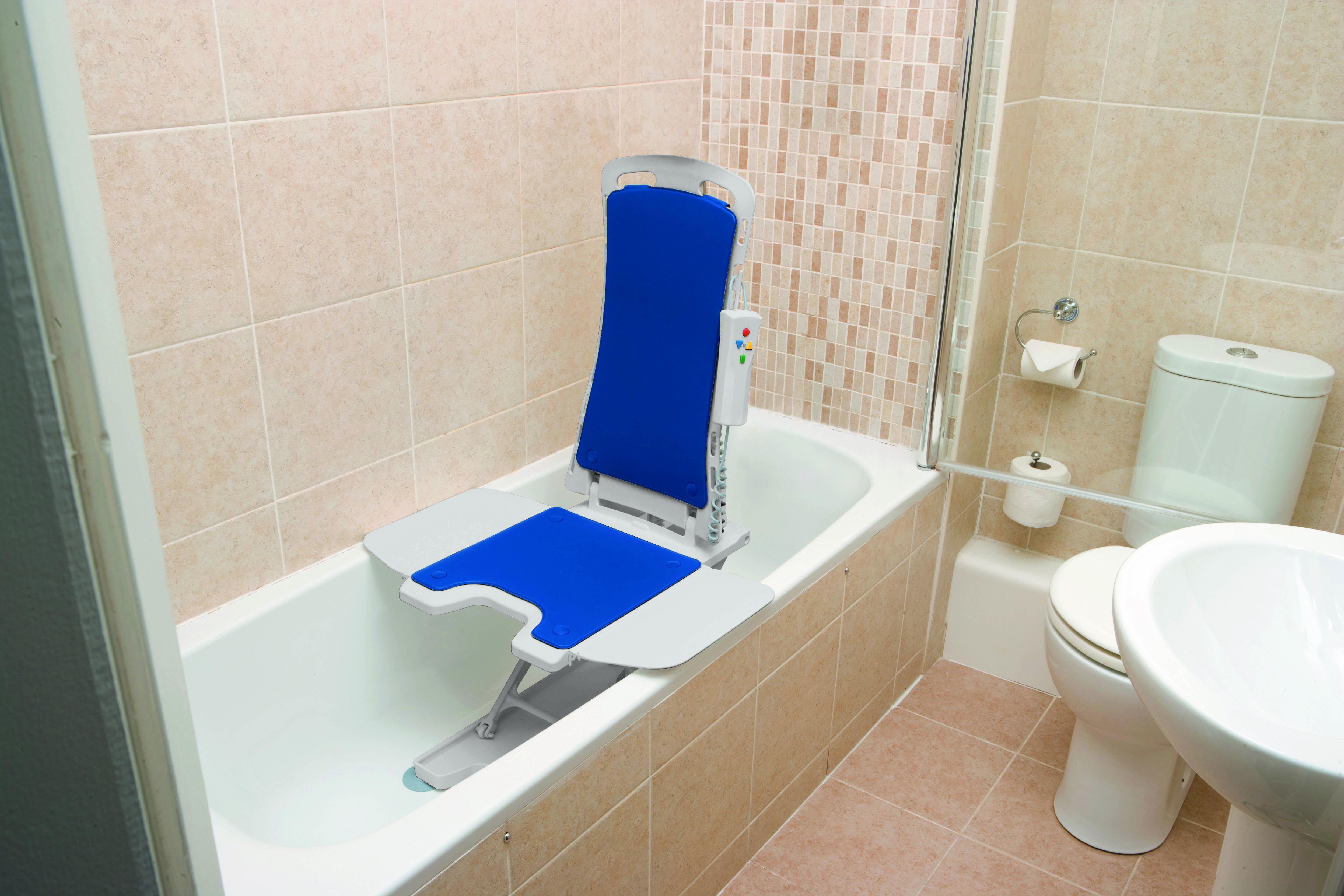 Blue Whisper Bathtub Lift Adaptive Equipment My Mobility Care Bath Lift Bathroom Safety Handicap Bathroom