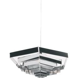 Photo of Artemide Lampada Esagonale pendant lamp, small version 52 cm, dimmable, white ArtemideArtemide