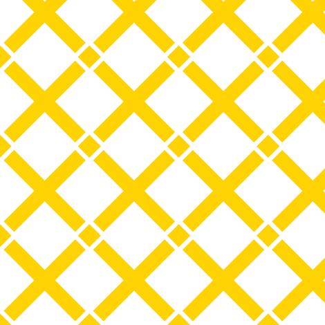Talma Yellow fabric by stoflab on Spoonflower - custom fabric