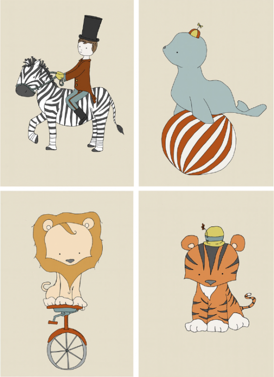 Circus Theme in Children's Decor | Nursery Thoughts ...
