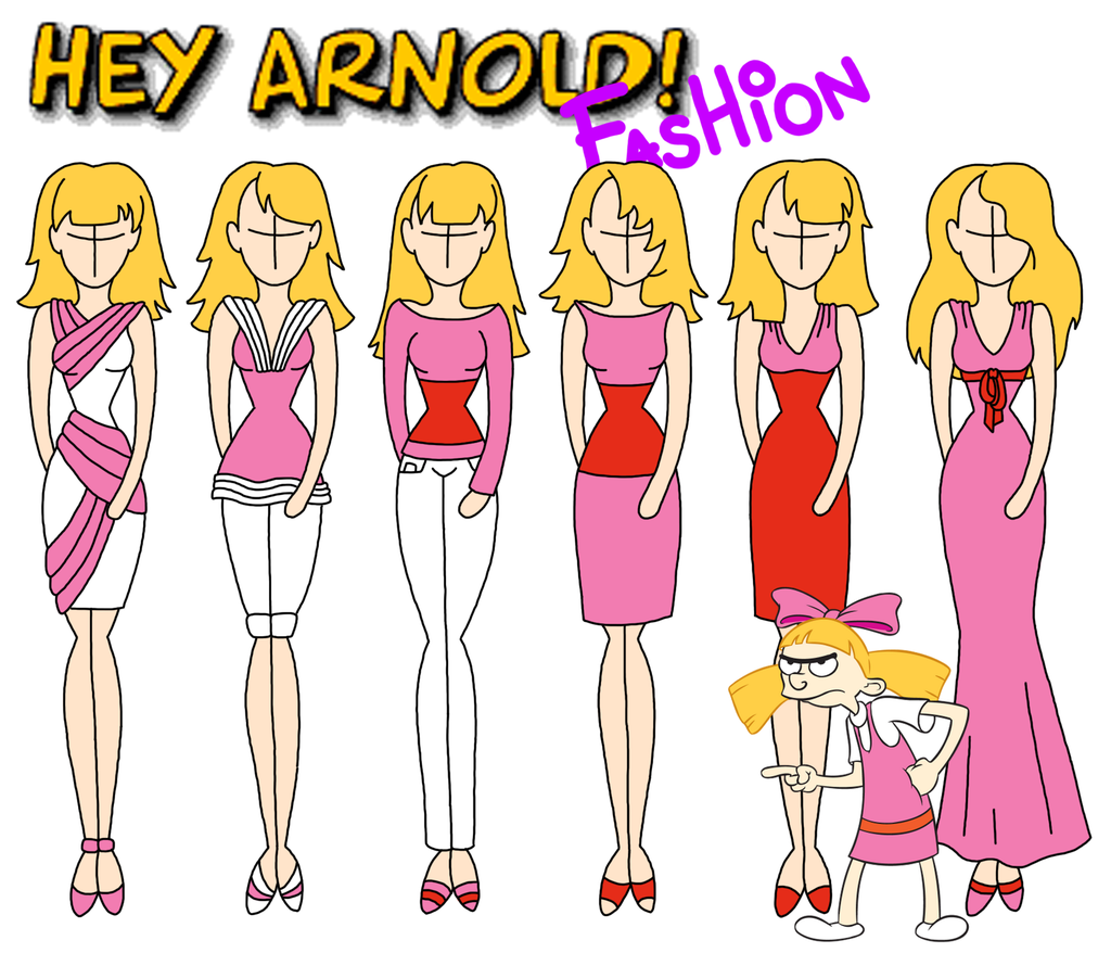 hey arnold fashion helga by willemijn1991 fashion pinterest