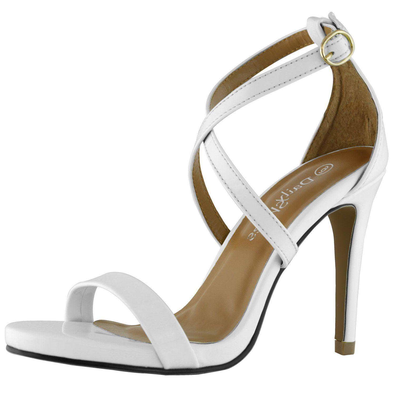 342ac3d2f4a1c Amazon.com | DailyShoes Women's High Heel Sandal Open Toe Ankle ...