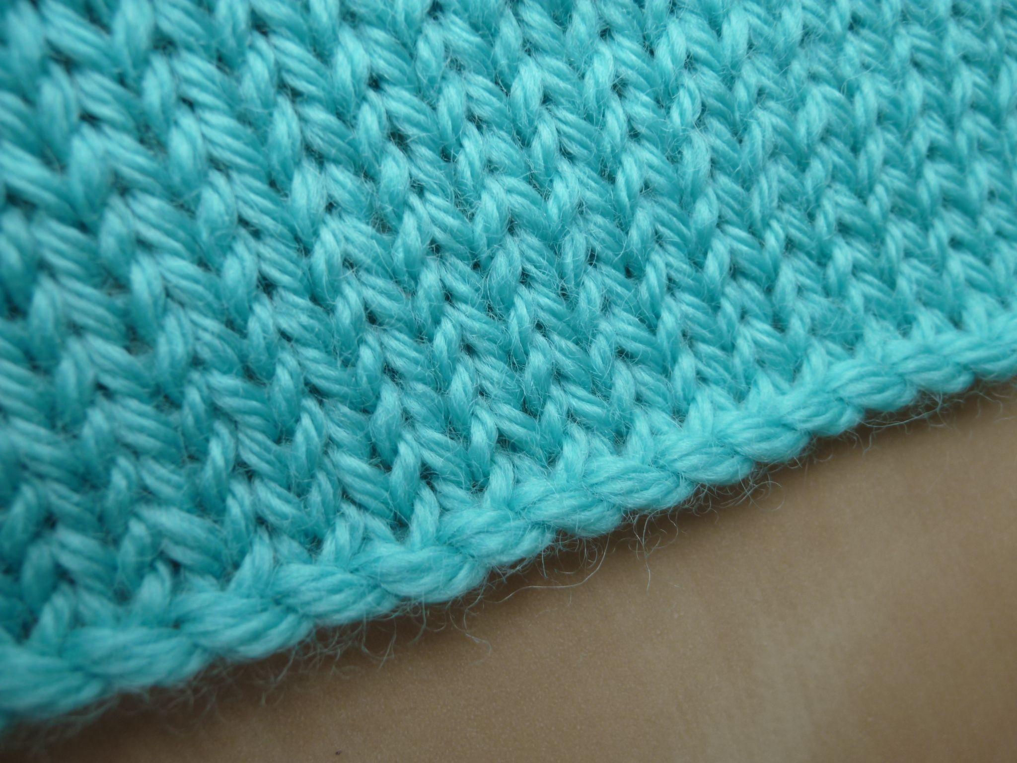 Montage tricoté à langlaise | Tricot, Tricot et crochet, Tutos tricot