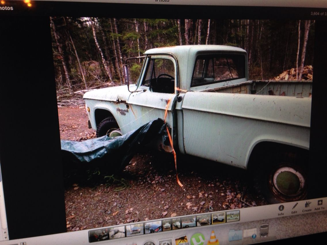 Old 1967 dodge pickup