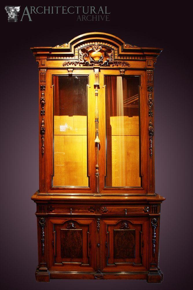 A Very Fine Antique Gun Cabinet - A Very Fine Antique Gun Cabinet Cabinets  And Such - Antique Gun Cabinet Antique Furniture