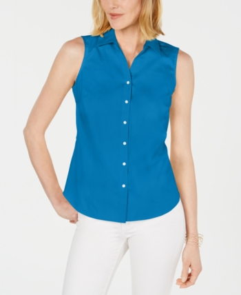 8fb07012b Charter Club Collared Shirt, Created for Macy's - White 4 in 2019 ...