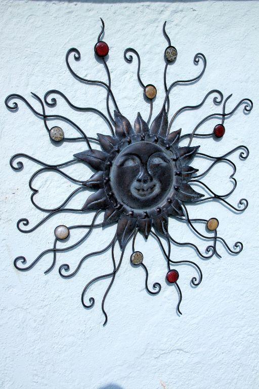 Muurdecoraties Voor Buiten.Muurdecoratie Zon Diameter 69 Cm Deze Decoratie Kan Zowel Binnen