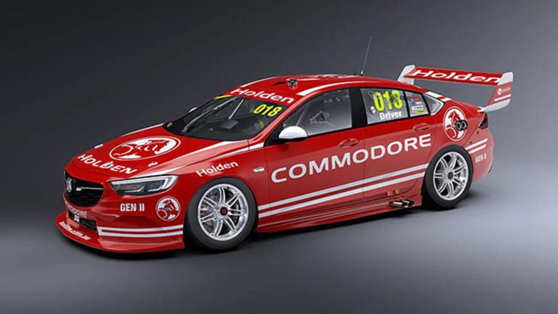 Holden Commodore Supercars Racer Revealed With Rendering