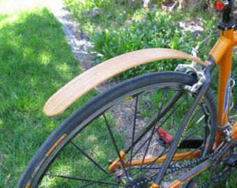 Holz Fahrrad Kotflugel Hand Aus Wenge Und Blut Holz Tolle Etsy Bike Fender Bicycle Bicycle Fenders