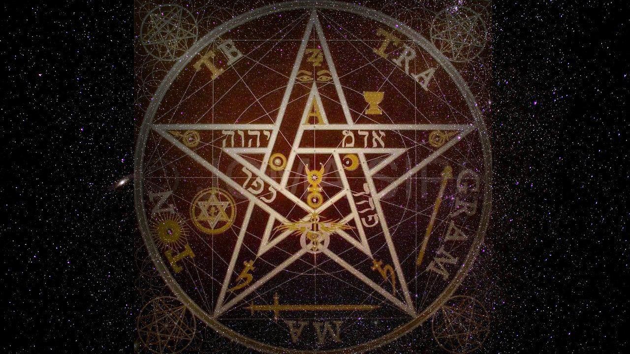 El Significado De La Estrella De Cinco Puntas Tetragramaton Estrella Cinco Puntas Estrella De David