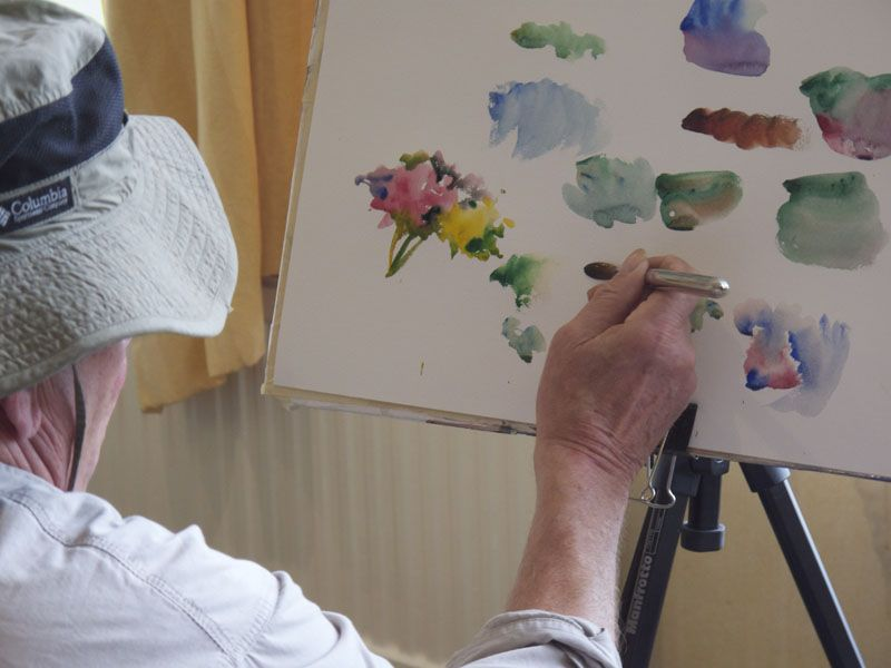 Charles Reid Day 3 Charles Reid Charles Watercolor Lessons