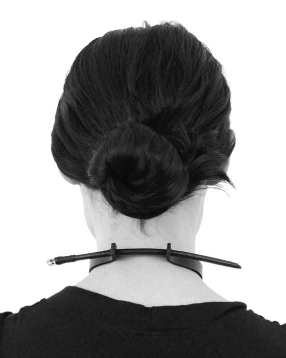 Image of STAKE CHOKER/ HAIRPIN