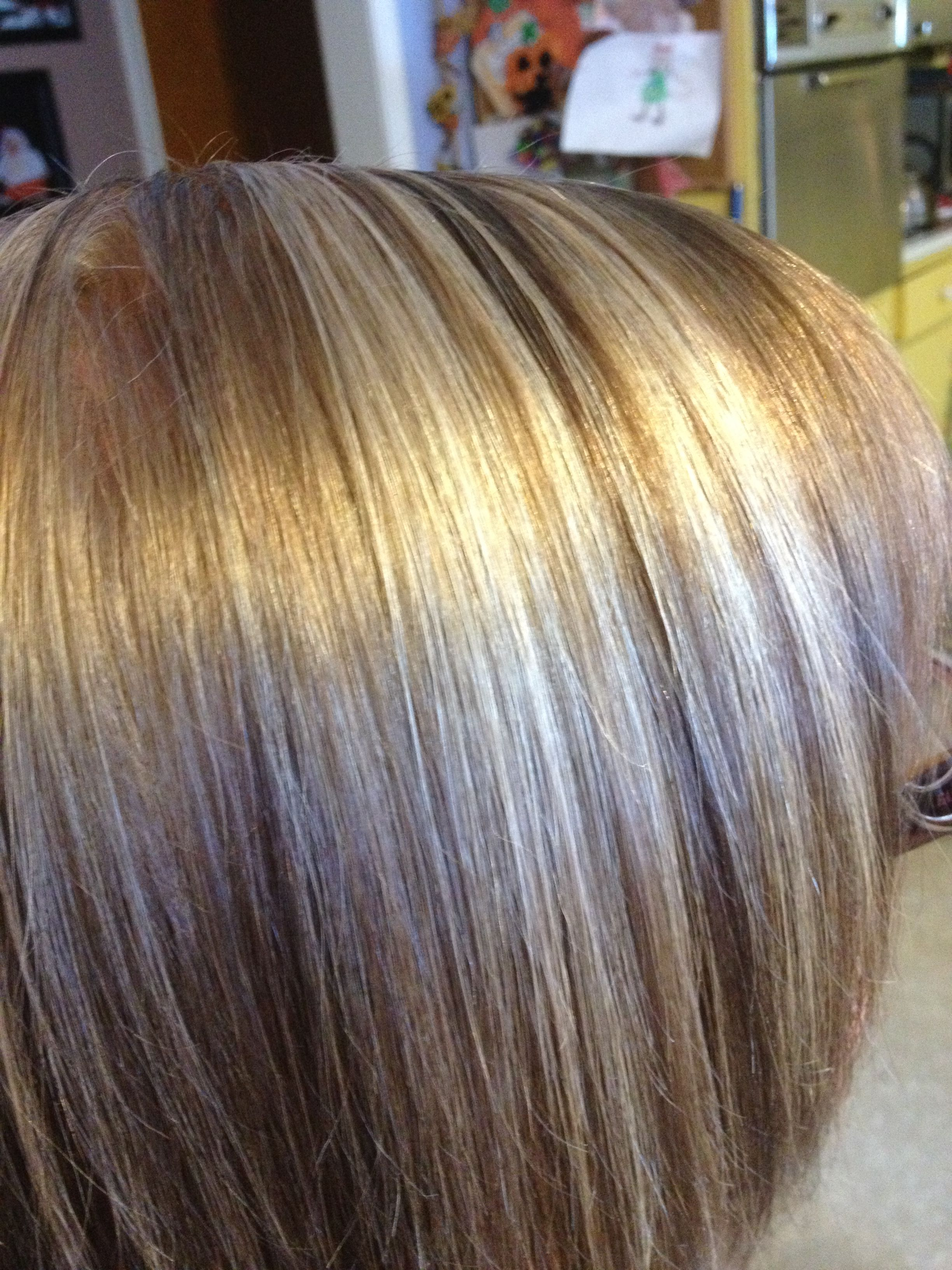 Three color blondes foil