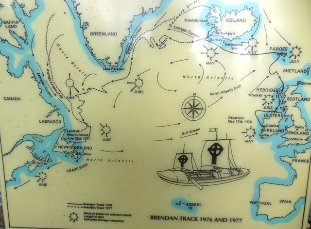 St. Brendan's Voyage. The Bantry Boat, probably commenrating St ...