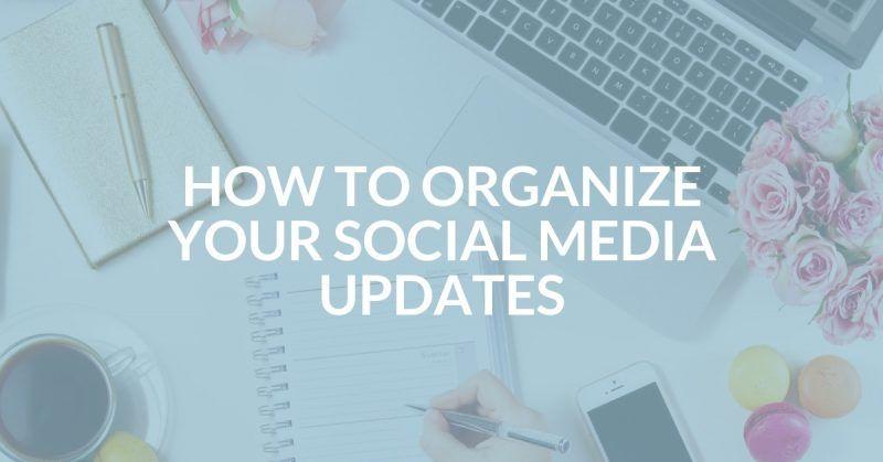 How To Plan 1 Month Of Social Media Updates Social Media Webinar Templates