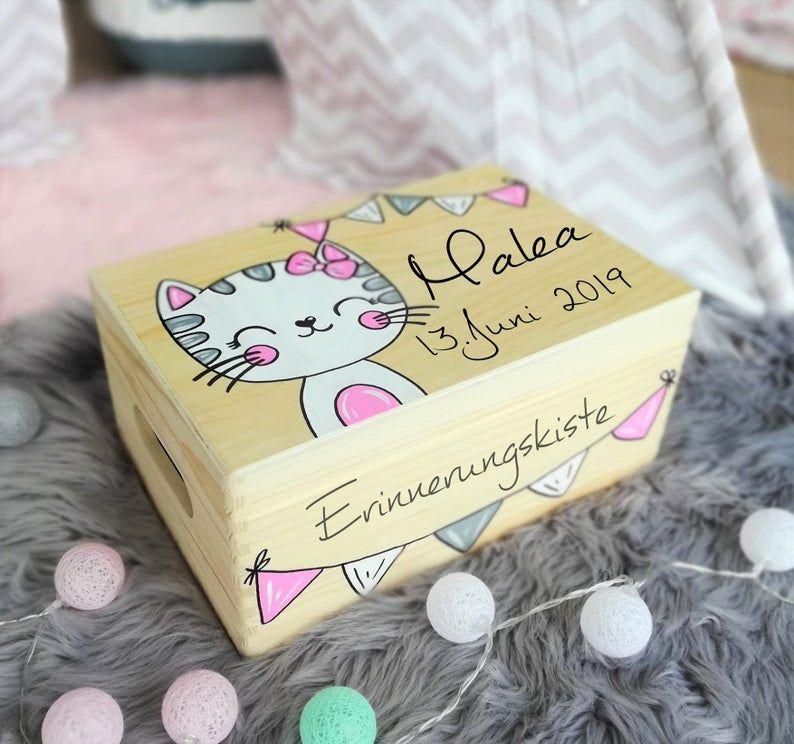 Erinnerungskiste Baby Erinnerungsbox Spielzeugkiste | Etsy