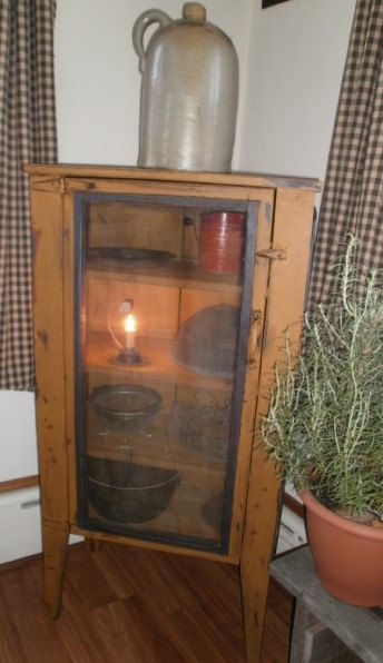 Pie Safe by PRIMITIVEPASSIONS on Etsy, $695.00
