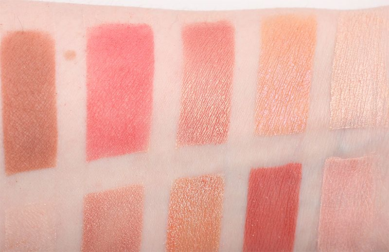 Makeup Geek Peach Palette Mu Makeup Geek Eyeshadows