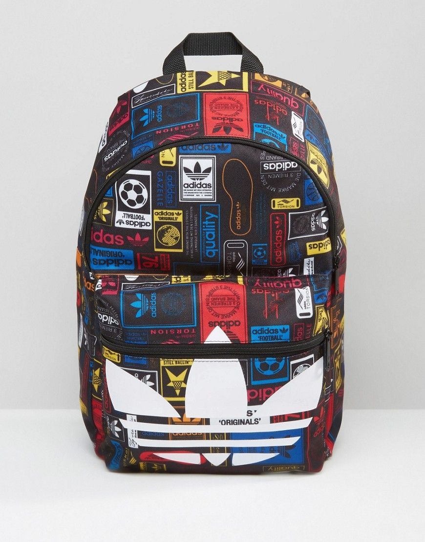 adidas Originals Backpack With Logo Print AZ0280   ADIDAS ... 2f541191a4