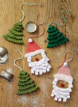 geschenkanh nger f r weihnachten basteln nikolaus mit kr uselbart geschenkanh nger. Black Bedroom Furniture Sets. Home Design Ideas