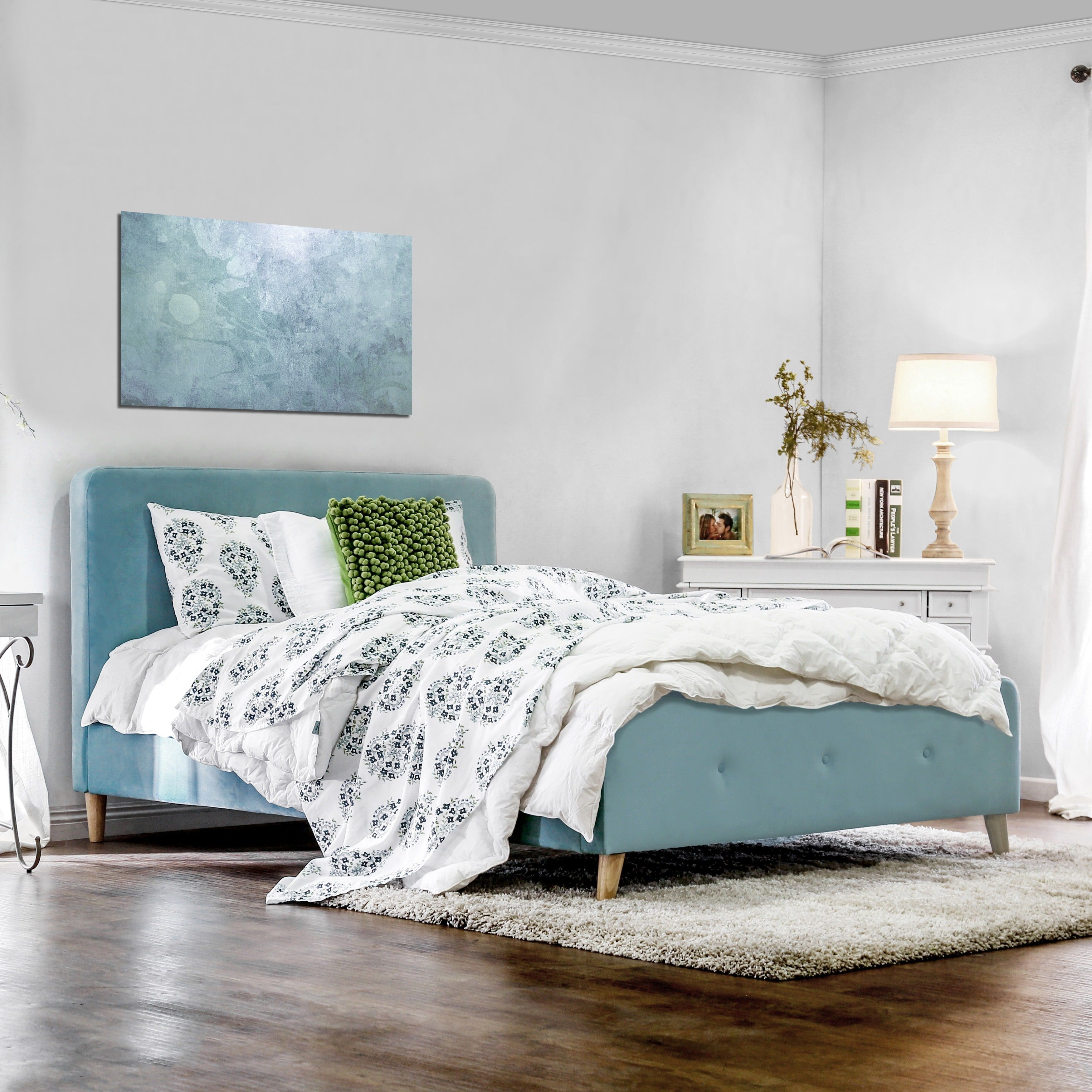 Best Furniture Of America Celene Mid Century Modern Tufted 400 x 300