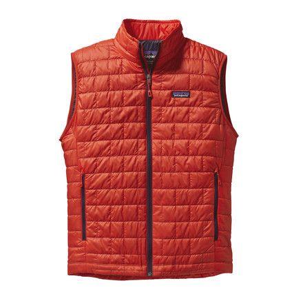 Patagonia Mens Nano Puff? Vestz Turkish Red - Coats & Outerwear