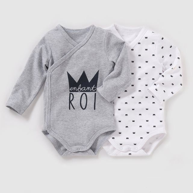 Body naissance (lot de 2) 0 mois-3 ans R baby   prix 64278994bca
