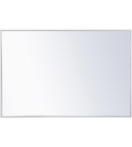 Elegant Lighting Mr4077wh Eternity 42 X 28 Inch White Wall Mirror Elegant Lighting Mirror Wall White Wall Mirrors