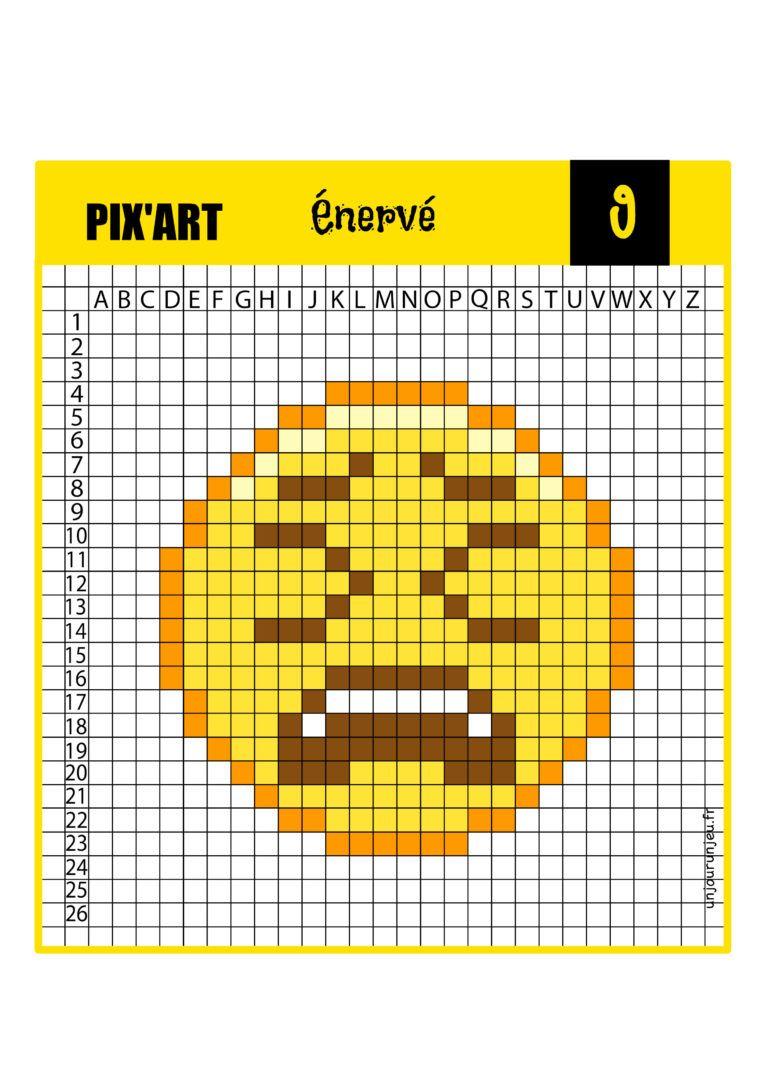 12 Modeles De Pixel Art Smiley A Telecharger Gratuitement Pixel