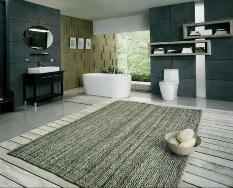 Extra Large Bathroom Rugs Uk Dengan