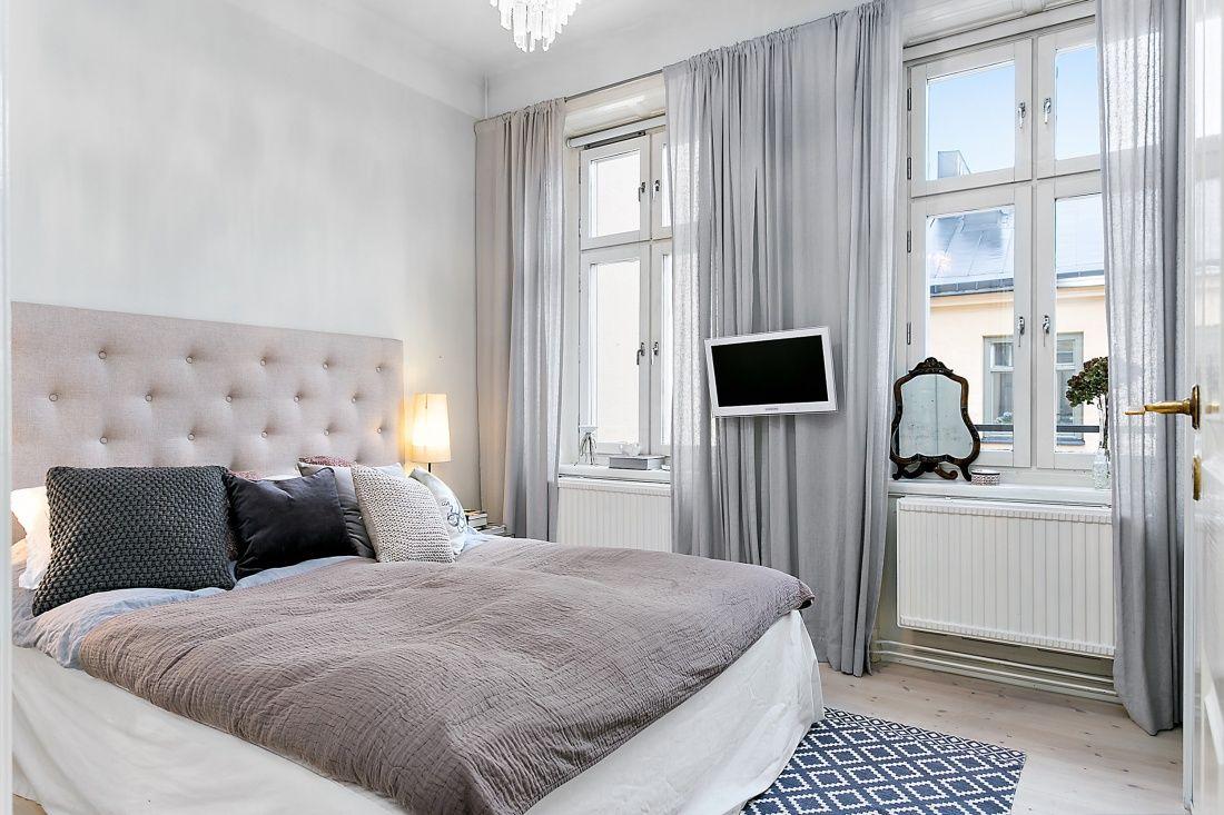 Scandinavian bedroom Scandinavian bedroom, Home decor
