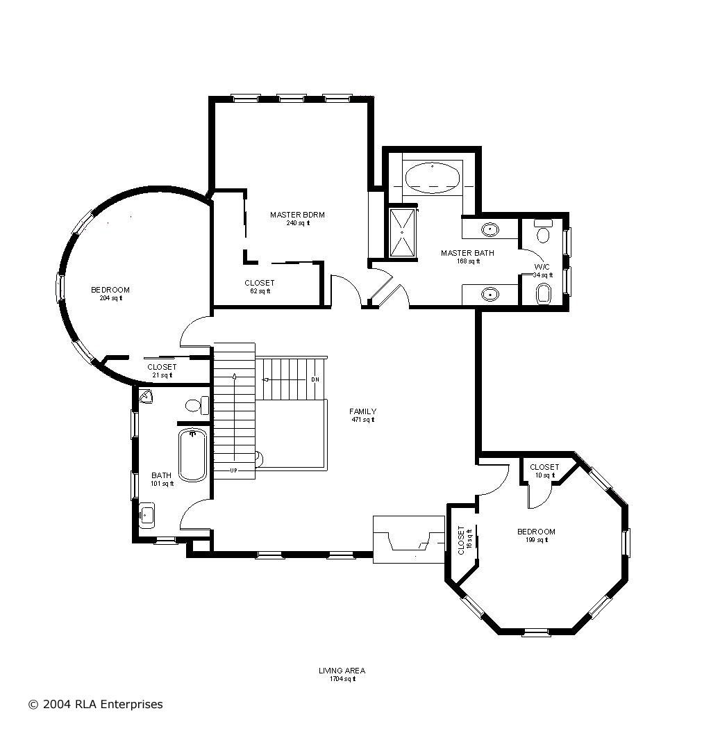 Classic victorian 1 house design second floor plan z for Classic homes floor plans