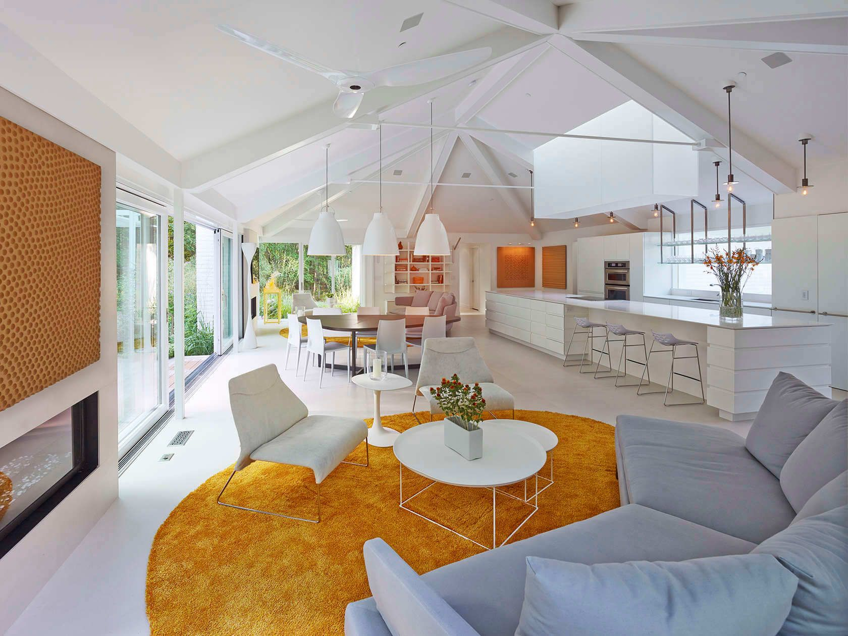 Private House Open Kitchen By Shinberg Levinas Architects Kitchen
