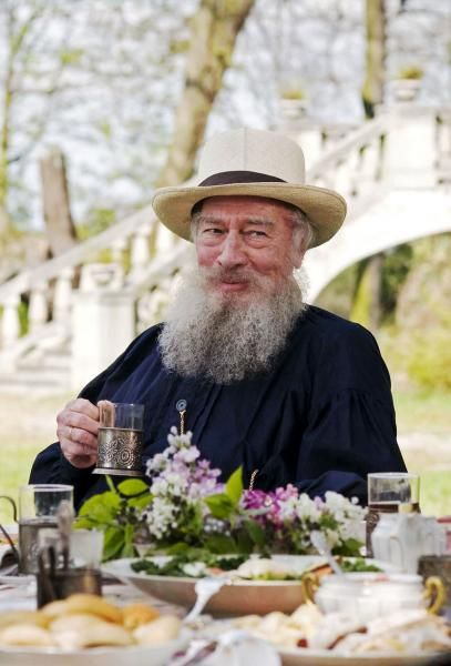 """Christopher Plummer as """"Leo Tolstoy"""" in The Last Station"""