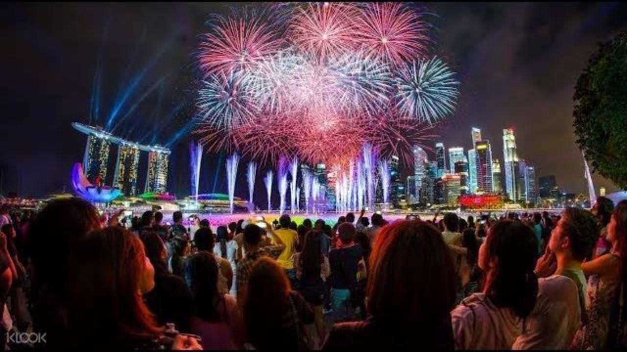 New Year 2018 Singapore Fireworks Singapore New Year Eve 2018 Fireworks New Year S Eve Celebrations New Years Eve 2018 New Year 2018