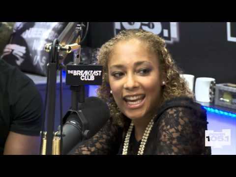 Interview With Amanda Seales At The Breakfast Club Power 105.1